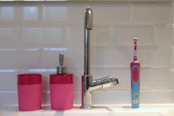 faience salle de bain rose fushia salle de bain gris et vert article - Salle De Bain Fushia Et Vert